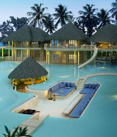 Soneva Fushi Resort in The Maldives