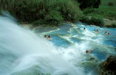 The Springs of Saturnia Photo | Tuscany Landscapes - Tuscany Pictures & Photos