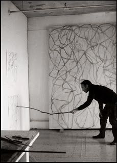 Brice Marden- line and ideographic art
