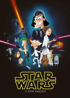 The Phineas and Ferb / Star Wars crossover!