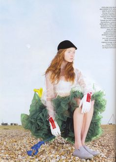 Lily Cole by Nick Knight VOGUE UK May 2007 / PLASTIC FANTASTIC