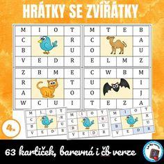 Hrátky se zvířátky | LesyNápadů.cz Word Search, Diagram, Words, Horse