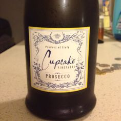 Cupcake Prosecco - A great little sparkler for around $10