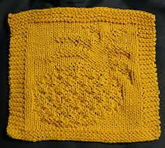 Ravelry: Pineapple Dishcloth pattern by CJ Bagaria
