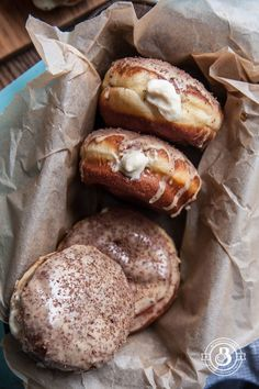 Beeramisu Doughnuts- replace flour with gluten free blend. Find substitute for wheat beer and use our gf stout