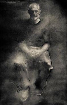 "Saatchi Art Artist pete cernis; Drawing, ""The Sculptor"" #art"