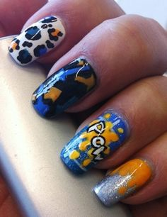 Graffiti - Nail Art Gallery by NAILS Magazine #nailart