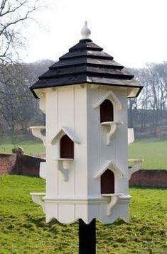 Apartment House For Our Fine Feathered Friends. ~. Move In Ready........... #birdhouseideas