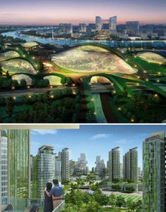 pictures of the greenest cites  | The Future is Green: 12 Visionary Architecture Concepts