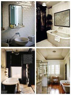 vintage inspired fantastical baths