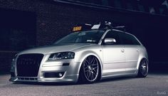 Nicely Stanced Audi A3