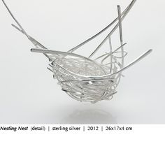 HEATHER BAYLESS- USA| Nesting nest -detail-sterling silver-2012