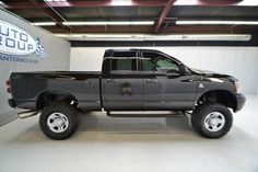 2008 Dodge Ram 2500 Diesel Quad Cab SLT 4WD Lifted Truck $29,980