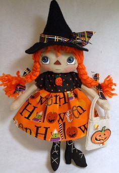Raggedy Doll  Little Ms Halloween by Allisbright on Etsy, $35.00