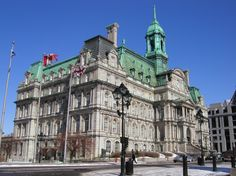 City Hall, Montreal, Quebec, Canada.