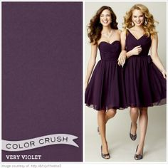 Very violet has been very popular as a wedding color over the past three years. What is your take? We love this bold color paired with white! #purple #wedding #inspiration