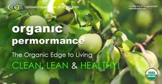 Eat Organic! Live Organic #healthyeating #healthyliving