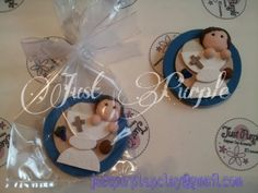 First Communion. Magnets. Polymer Clay. Fimo.