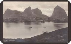 Træna i Nordland fylke. Utg Mittet