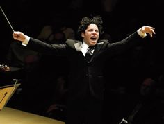 Tomorrow, Downtown welcomes its favorite Venezuelan. Gustavo Dudamel and his charges in the Los Angeles Philharmonic are proud to come back to their Frank Gehry-designed roost at the Walt Disney Concert Hall. On the docket are four performances of Mahler's Symphony No. 5 and the U.S. premiere of the Phil-commissioned work man made from David Lang. Dudamel conducts the program at 8 p.m. on 10/02, and Saturday, Oct. 4. #DTLA #LA #LosAngeles #Dudamel