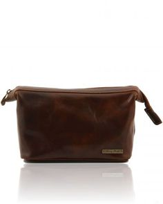 RONNY TL140979 Leather toilet bag - Beauty case in pelle - Tuscany Leather  Leather Accessories 1d9739d3907