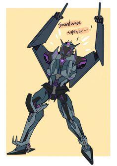Transformers Soundwave, Transformers Memes, Transformer 1, Big Robots, Sci Fi Characters, Cyberpunk Art, Red Hood, Screwed Up, Sound Waves