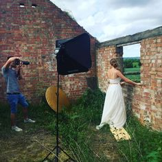 On location shot from yesterdays photoshoot, cant wait to share all the product images soon... �� @tomjamesimages  #weddinginspiration #weddingdress #wedding #bridetobe #newproducts #handmade #love #photoshoot #onlocationshoot #bride #pretty #backnecklace http://gelinshop.com/ipost/1524768851833055469/?code=BUpETEyFujt
