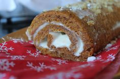 The Skinny Confidential... Pumpkin Roll - Skinny Style!