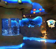 Downtown Houston Aquarium, TX.