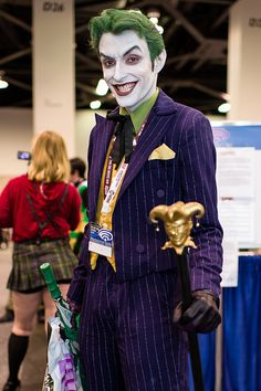 The Best Non-Ledger Joker Costume I've Ever Seen. - COSPLAY IS BAEEE! Tap the pin now to grab yourself some BAE Cosplay leggings and shirts! From super hero fitness leggings, super hero fitness shirts, and so much more that wil make you say YASSS! Joker Cosplay, Epic Cosplay, Amazing Cosplay, Cosplay Outfits, Cosplay Costumes, Ivy Costume, Cool Costumes, Halloween Costumes, Costume Ideas