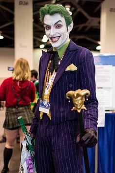 The Best Non-Ledger Joker Costume I've Ever Seen. #sdcc #batman