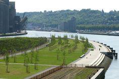 Presqu'île Rollet Park Recaptures The Seine Banks