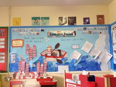 Lost and Found Oliver Jeffers display classroom wall art English