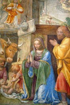 Bernardino Luini, (1485-1532): Sagrada Familia.
