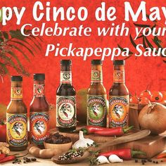 Happy #cincodemayo! Celebrate with your favorite Pickapeppa Sauce. What your go-to flavor? Pickapeppa.com