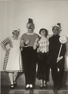 Karneval in Köln; August Sander; 1926