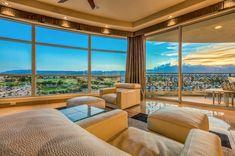 Breathtaking sunset views| One Queensridge Place Las Vegas