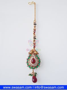 Indian Jewelry Store | Swasam.com: Tikka with Perls and White Stones - Tikka - Jewelry Shop to Buy The Best Indian Jewelry  http://www.swasam.com/jewelry/tikka/tikka-with-perls-and-white-stones-1378.html?___SID=U  #indianjewelry #indian #jewelry #tikka
