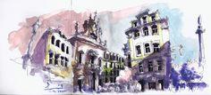 Pedro Alves - Lisboa - Urban Sketchers