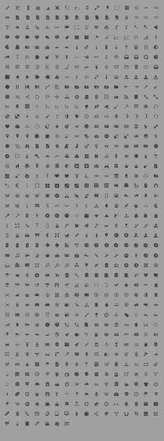 gray icons
