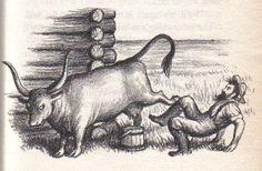 Illustration from Little House on the Prairie (E.B. White), Garth Williams