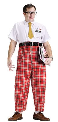 50's Nerd Adult Costume - Fifties Costumes