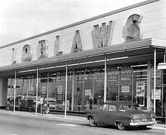 Loblaws grocery store 1950's