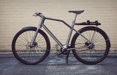 Ti Cycles Solid 3D Printed Titanium Bike