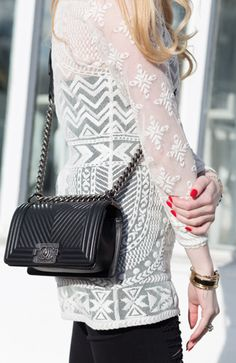 We are Canada's online source for authentic preowned designer handbags, clothing, shoes, and accessories sold on consignment. Discover luxury for less with Love that Bag etc. Cute Handbags, Chanel Handbags, Casual Fall Outfits, Cute Outfits, Used Designer Handbags, Cloth Bags, Luxury Bags, Black Chevron, Chanel Boy Bag