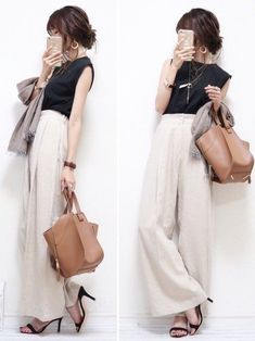 16 Ideas For Style Casual Everyday Fashion Pants, Look Fashion, Daily Fashion, Korean Fashion, Trendy Fashion, Fashion Outfits, Womens Fashion, Fashion Tips, Fashion Books