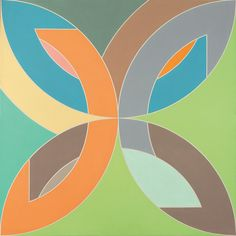 Frank Stella // Flin Flon IV, 1969 Collection of Robert and Jane Meyerhoff