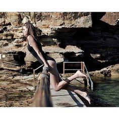 @elizab96 @imgmodelsaustralia @michellecoxmakeup @seafollyaustralia #beachvibes