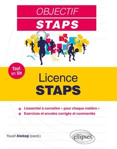 Licence STAPS : tout en un / ouvrage coordonné par Youcef      Alanbagi Licence Lea, Movie Posters, Ainsi, Fitness Plan, Everything, Physical Exercise, Teacher, Learning