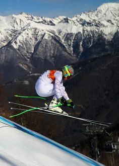 Ted Ligety of the United States competes during the Alpine Skiing Men's Super Combined Downhill (c) Getty Images